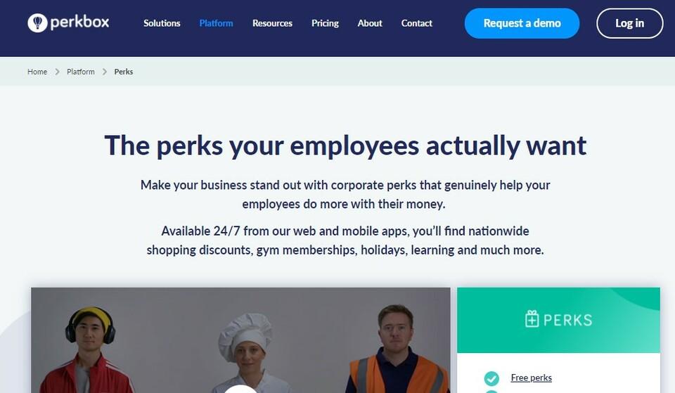perkbox benefits package