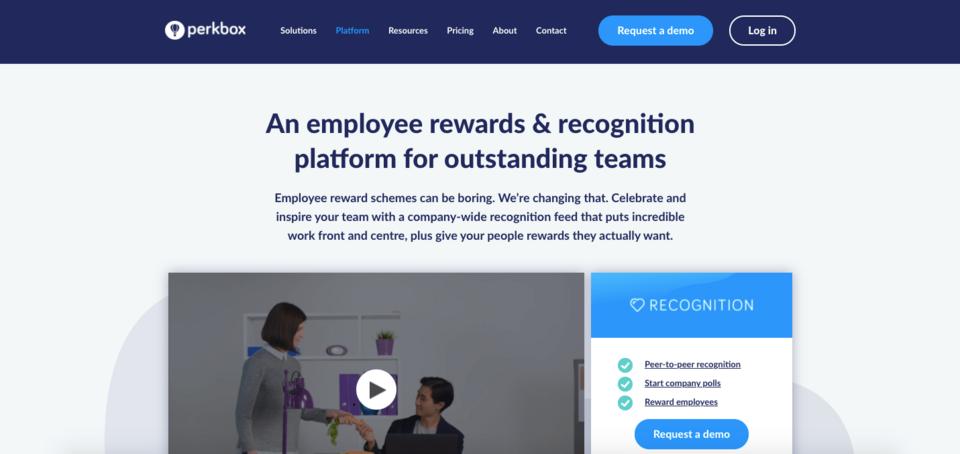 perkbox recognition