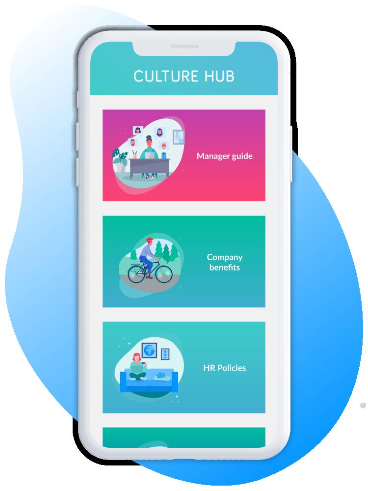 culture hub main page