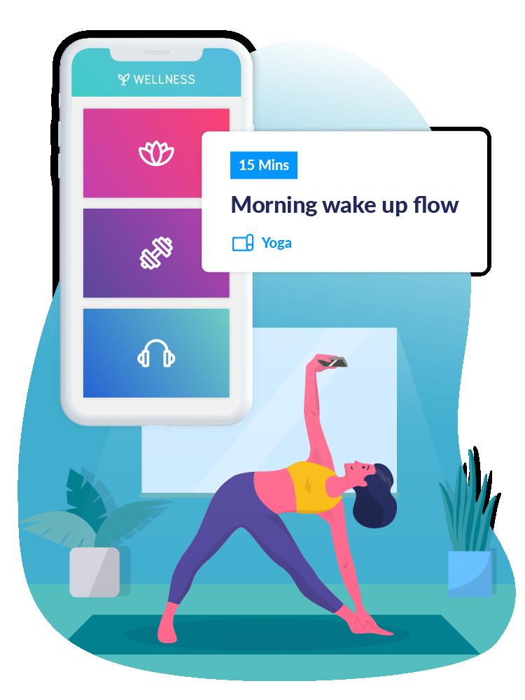 wellness hub main page