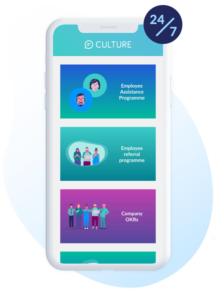 culture hub is available 24/7