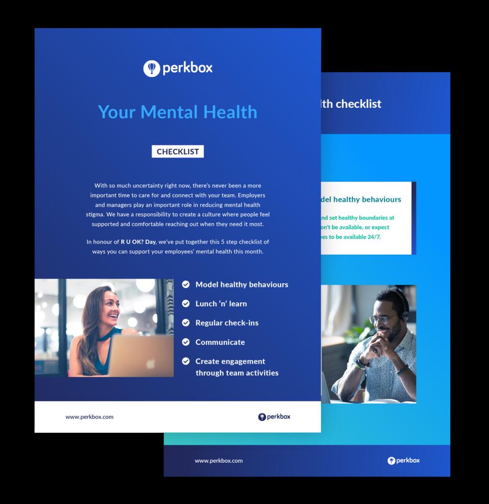 Your mental health checklist