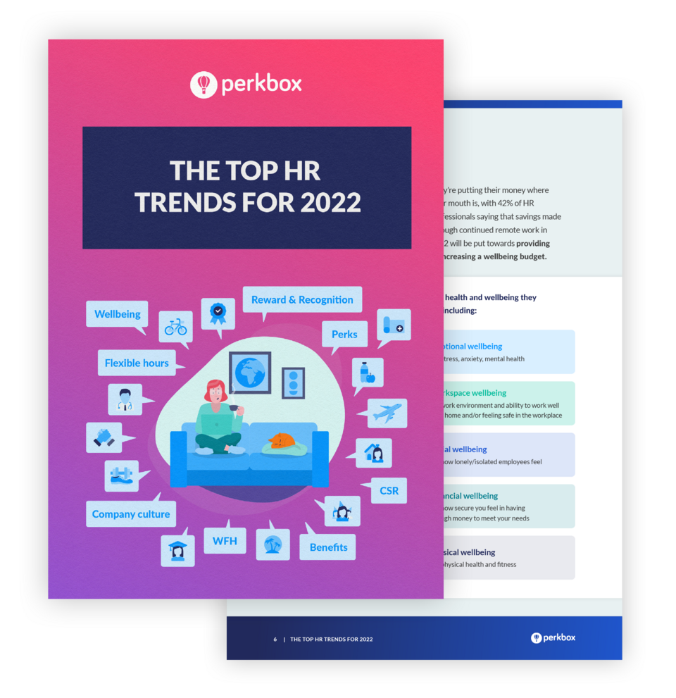 The Top HR Trends for 2022