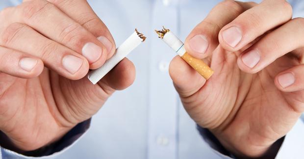 Cigarette rest break