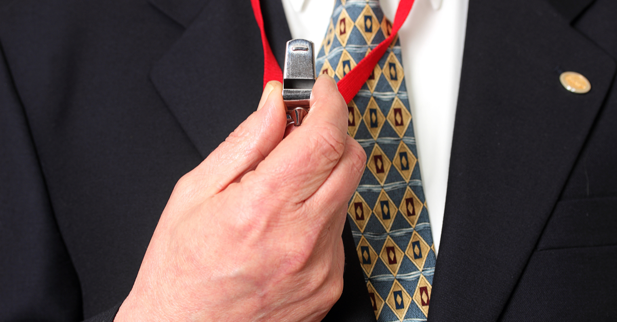 How to set up a whistleblowing policy