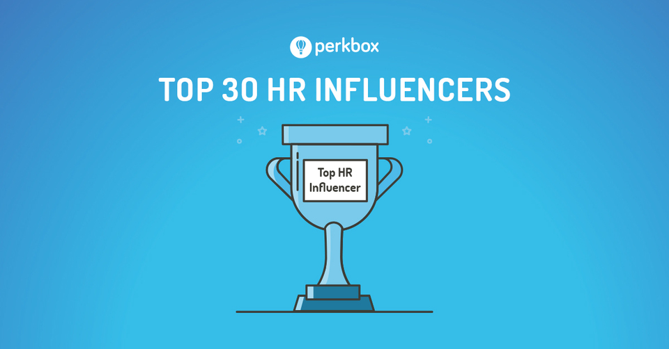 Perkbox's Top 30 HR Influencers for 2017