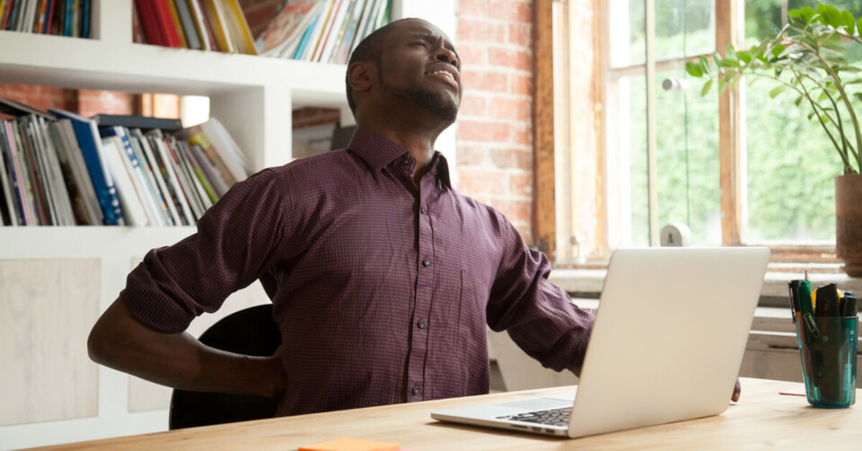 Back pain can lead to work absence: here's how to avoid it