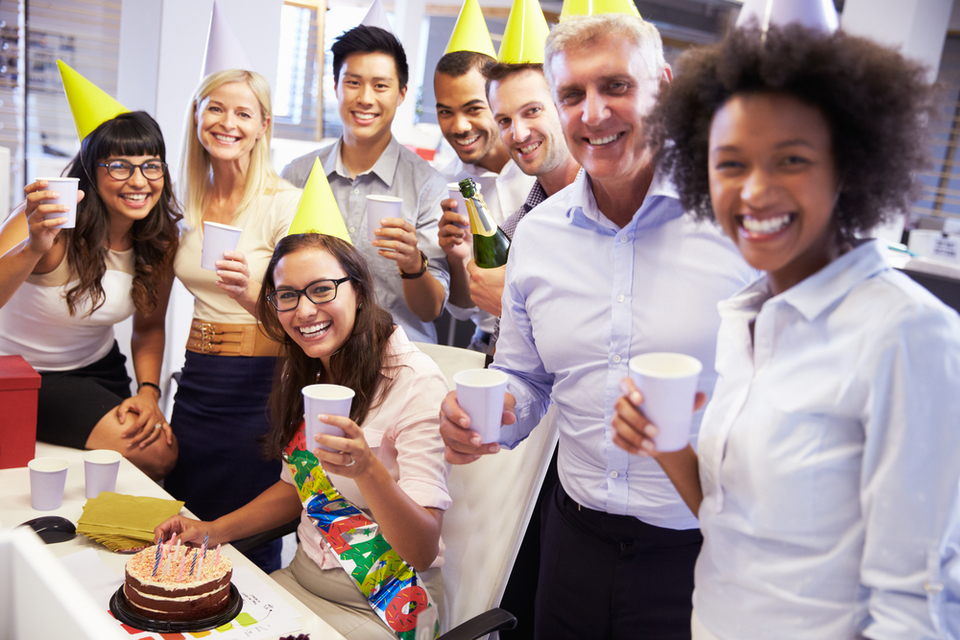 How to approach the weird social ritual of signing an office birthday card