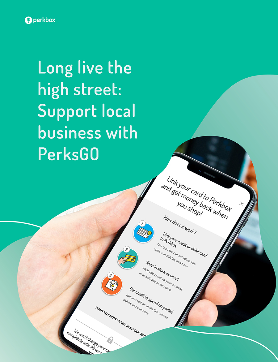 Long live the high street: Support local business with PerksGO