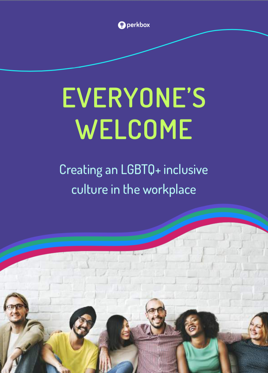 Everyone's Welcome: Creating an LGBTQ+ inclusive culture in the workplace