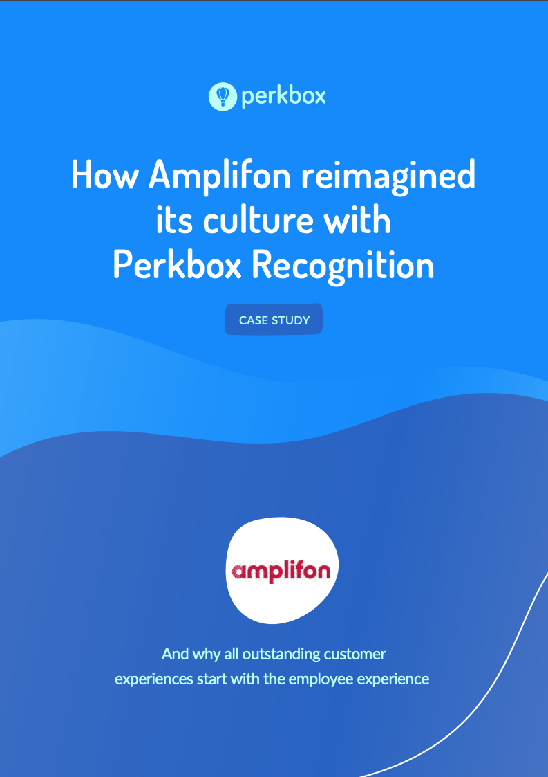 Case study: How Amplifon reimagined its culture with Perkbox