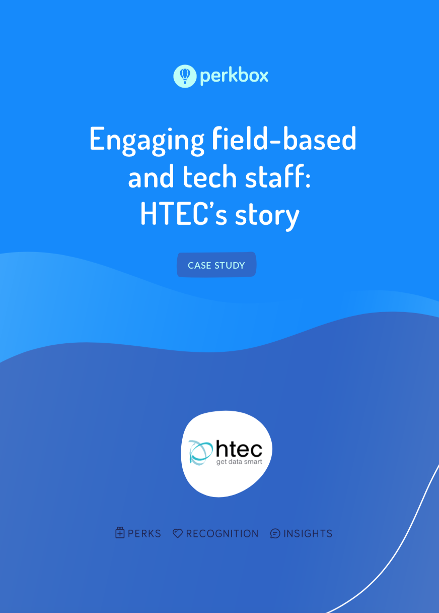 Engaging field-based and tech staff: HTEC's story