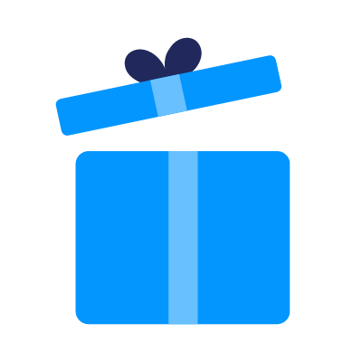 Large sélection de cadeaux