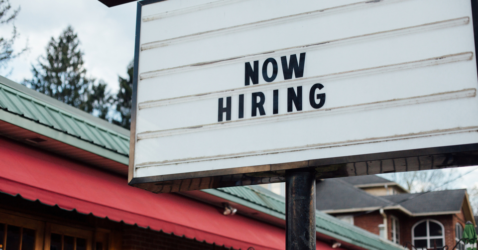 Hiring staff in the current climate