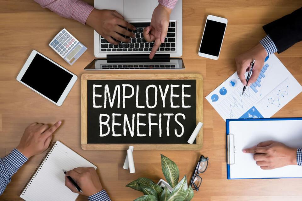 Top 5 employee benefits revealed