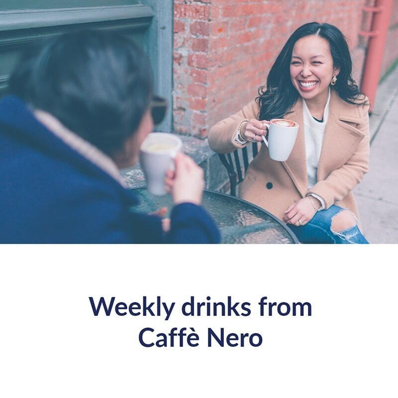 Weekly drinks