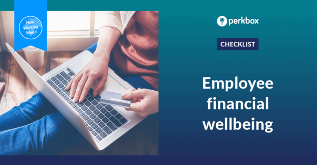 Checklist to help employees with their financial wellbeing