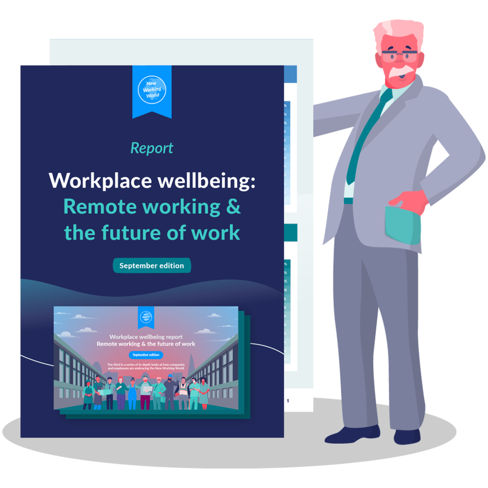 Workplace wellbeing report: Remote working & the future of work – September edition