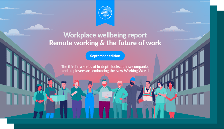 Perkbox workplace wellbeing report September edition