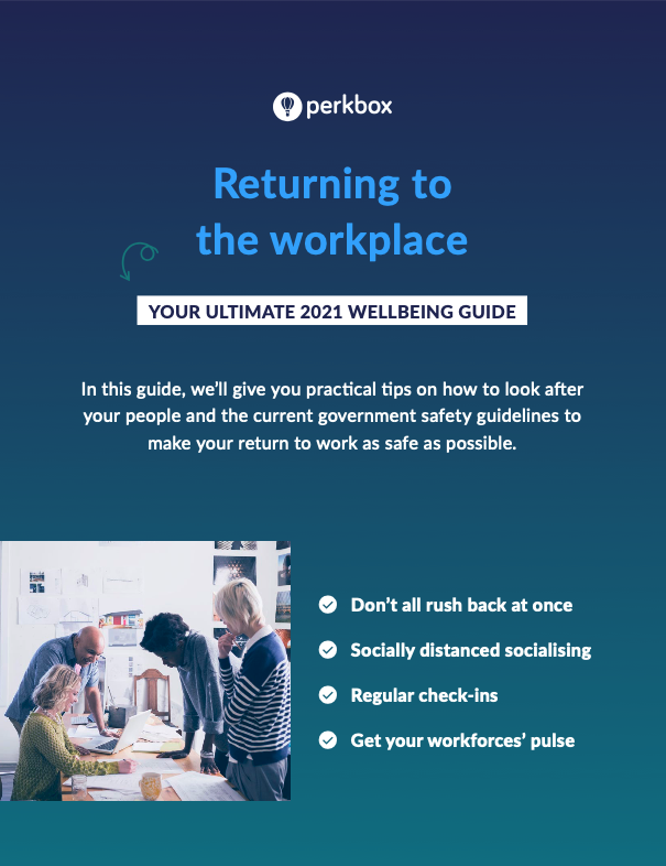 Returning to the workplace guide