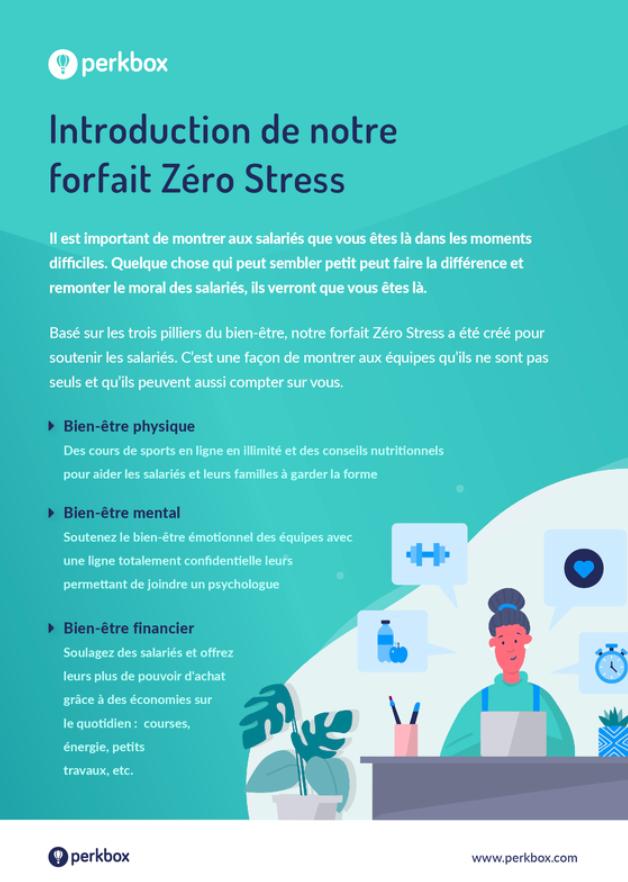 Le forfait Zéro Stress