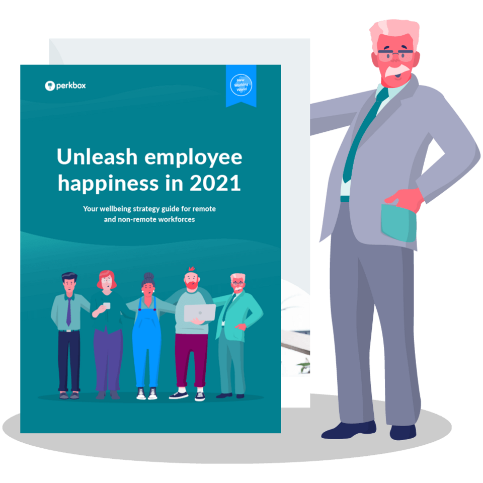 Unleash employee happiness in 2021: Your wellbeing strategy guide for remote and non-remote workforces