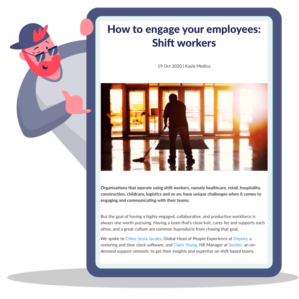How to engage your employees: Shift workers