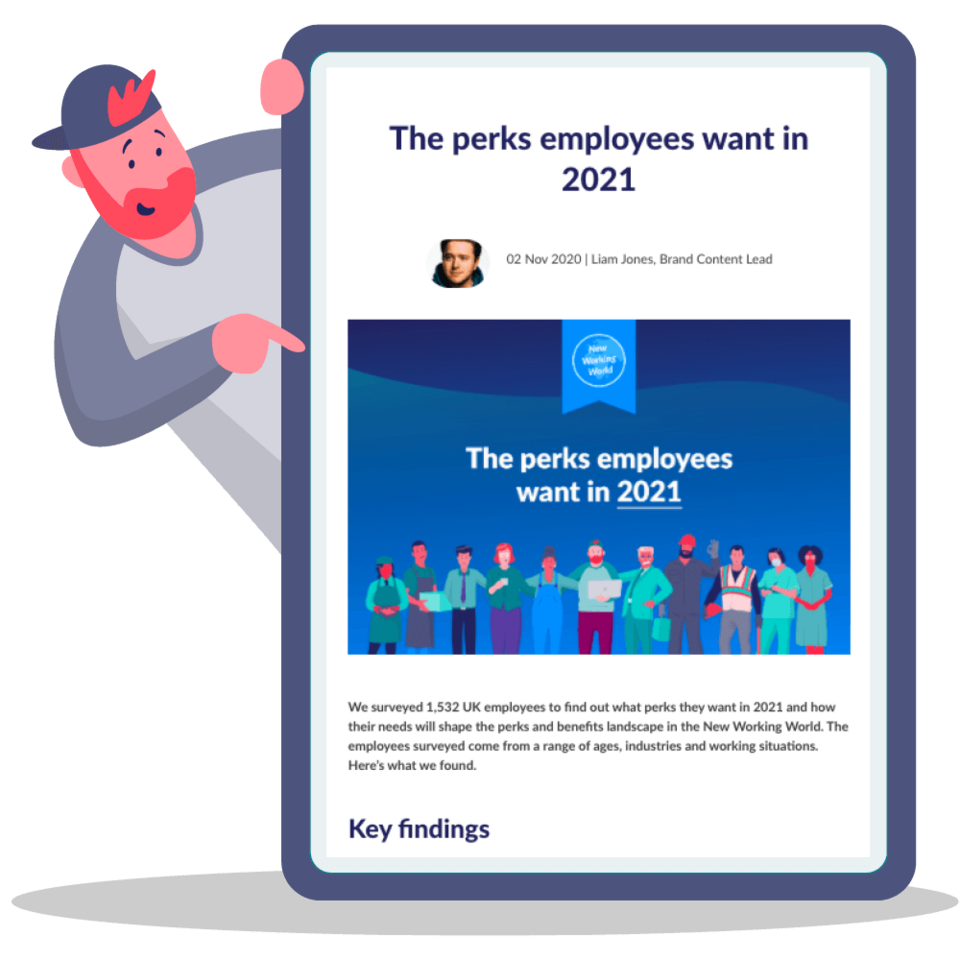 The perks employees want in 2021