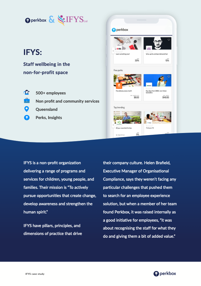 Preview of IFYS success story downloadable pdf