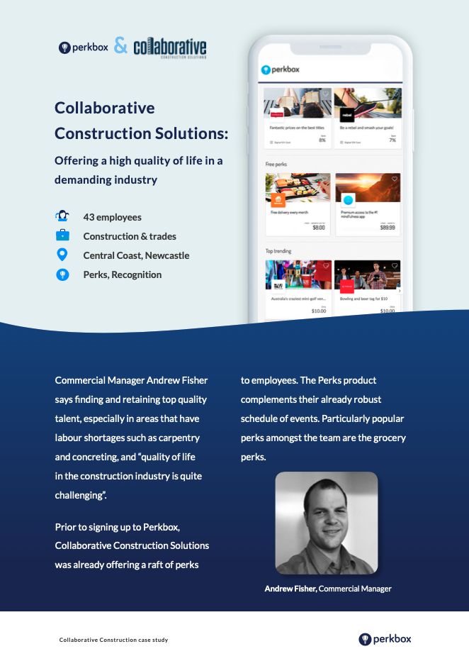 Collaborative Construction Solutions is a leading employer in their industry