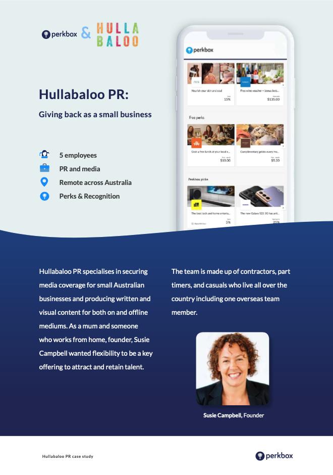 Hullabaloo PR case study download