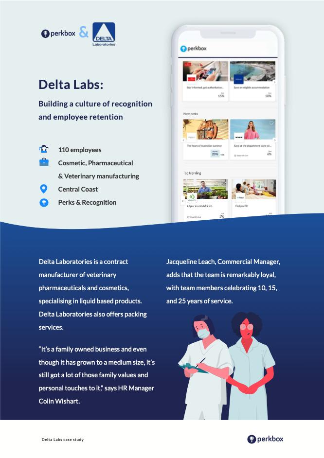 Delta Laboratories cover