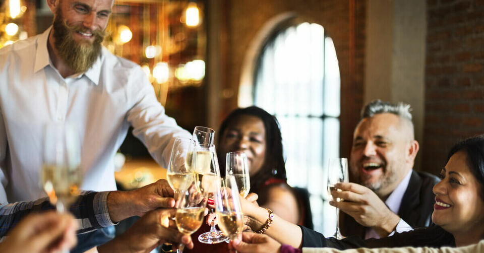 reward employees with a ticket to a vip dinner that occurs once a quarter